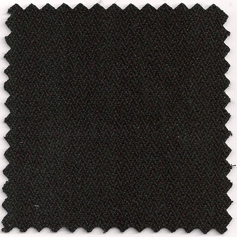 hemp & organic cotton fine herringbone - black – currently out of stock
