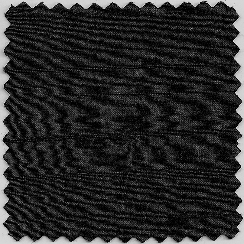 dupioni - black