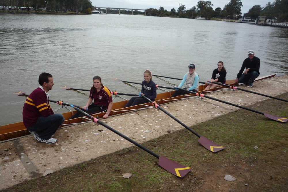 Learn To Row — Mildura Rowing Club