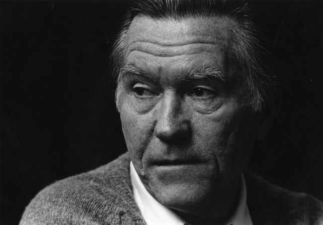 William Edgar Stafford, poet, educator and pacifist. January 17, 1914 - August 28, 1993.