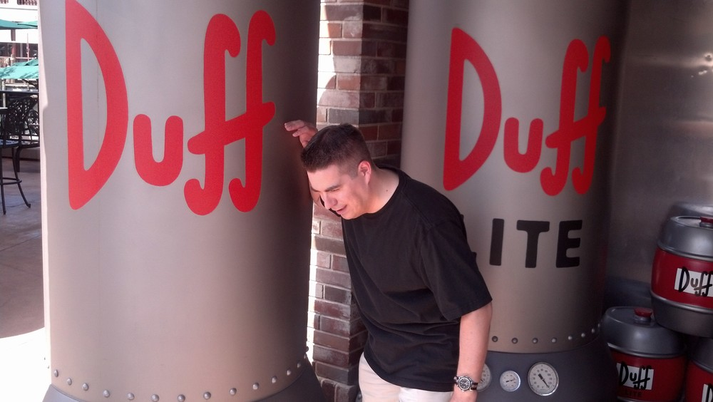 A trip to the Duff Brewery at Universal Orlando