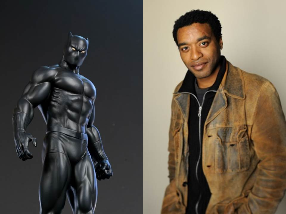 Please Universe, let this happen -  Chiwetel Ejiofor as Black Panther.