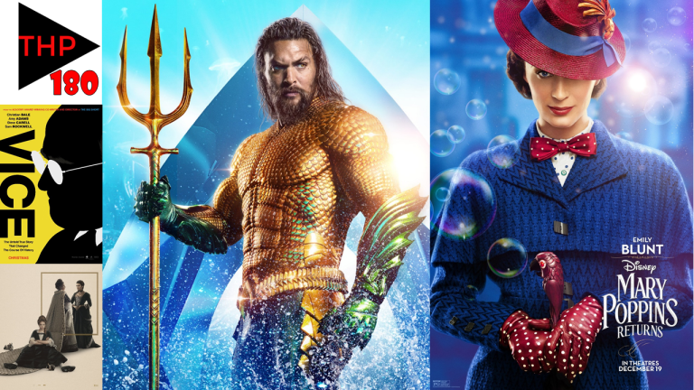 EPISODE 180: MARY POPPINS RETURNS TO HER FAVOURITE VICE, AQUAMAN