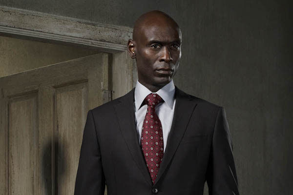 Lance Reddick, who has no connection to  Maxim Ultra  outside my imagination.