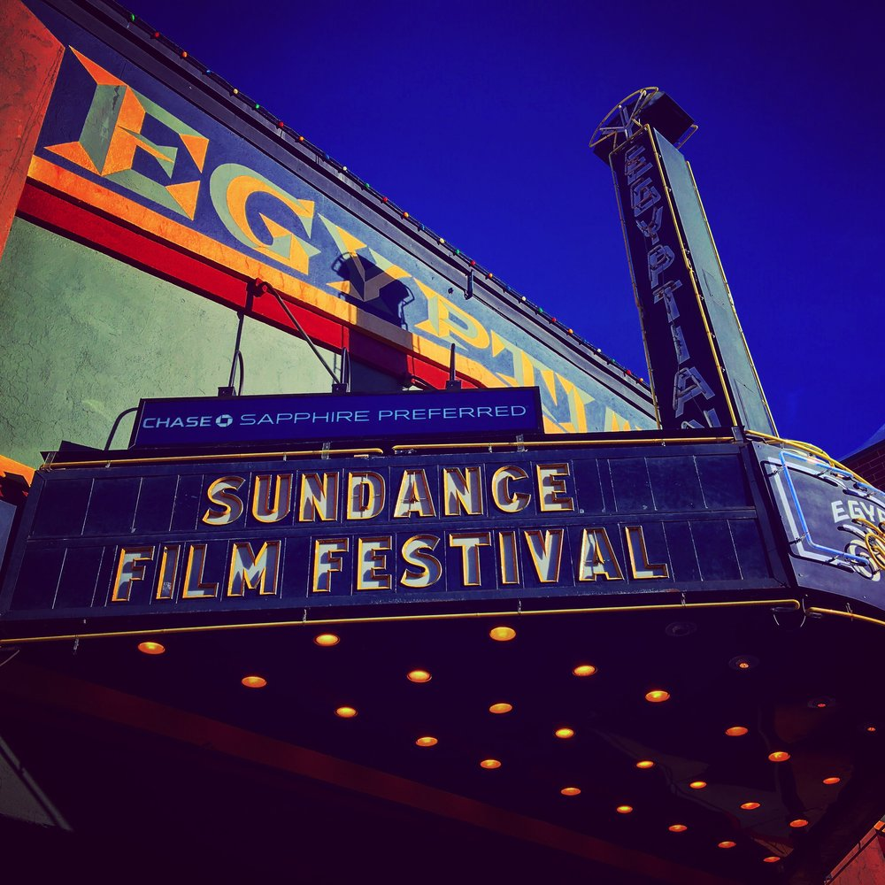 Sundance Film Festival 2016 Park City Utah. The Egyptian Theatre.