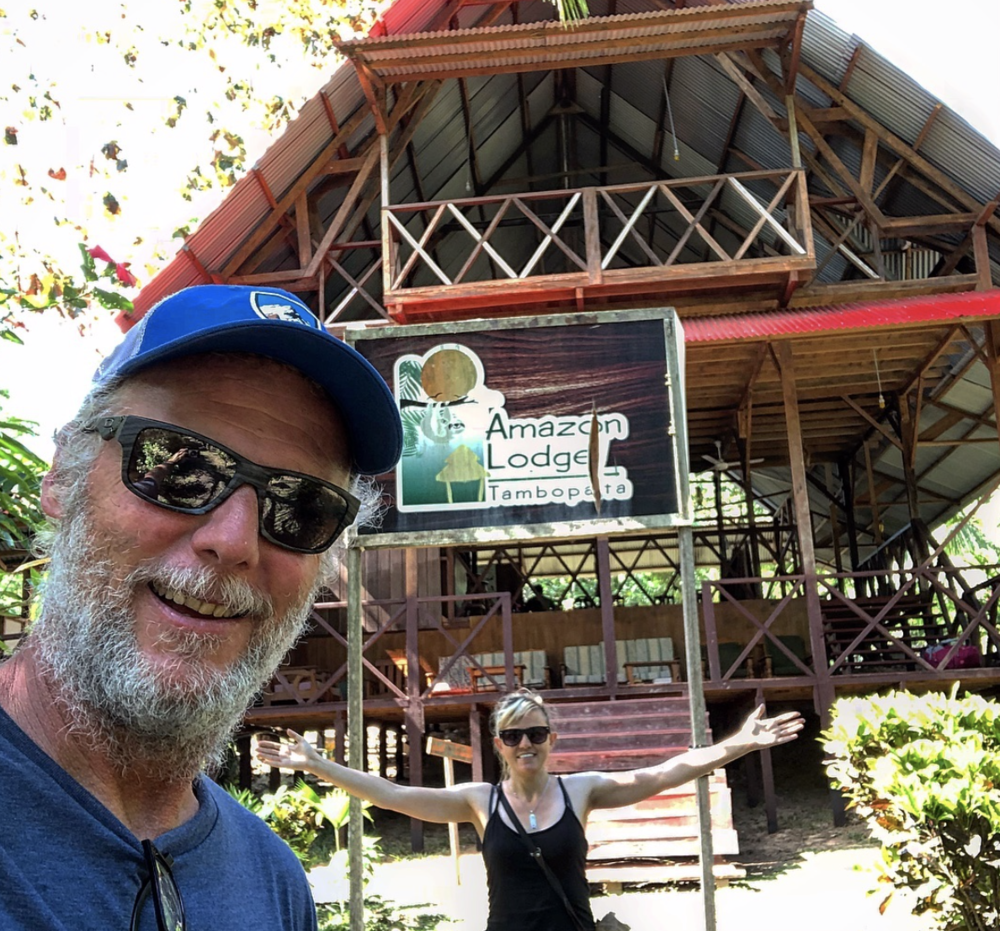 We took a plane, a van and a motorized canoe to get to the lodge. They only had power for a few hours in the evening. So no WiFi or phone charging till then. The staff were very friendly and the food was good. I would recommend them if you want a great Amazon experience.