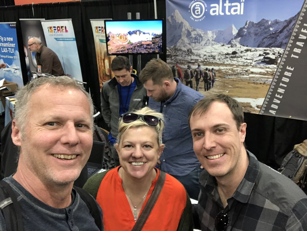 Doug & Teresa with Benjamin IOAN from Altai