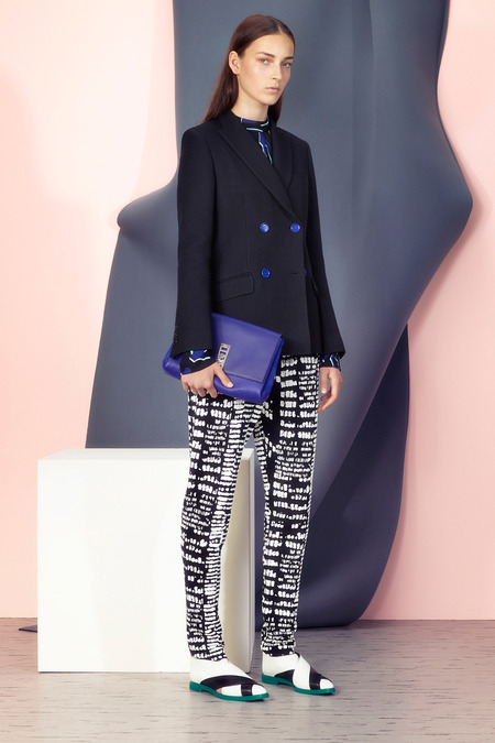 Proenza Schouler, Resort 2014, image via style.com  http://www.style.com/fashionshows/review/2015RST-PSCHOULER