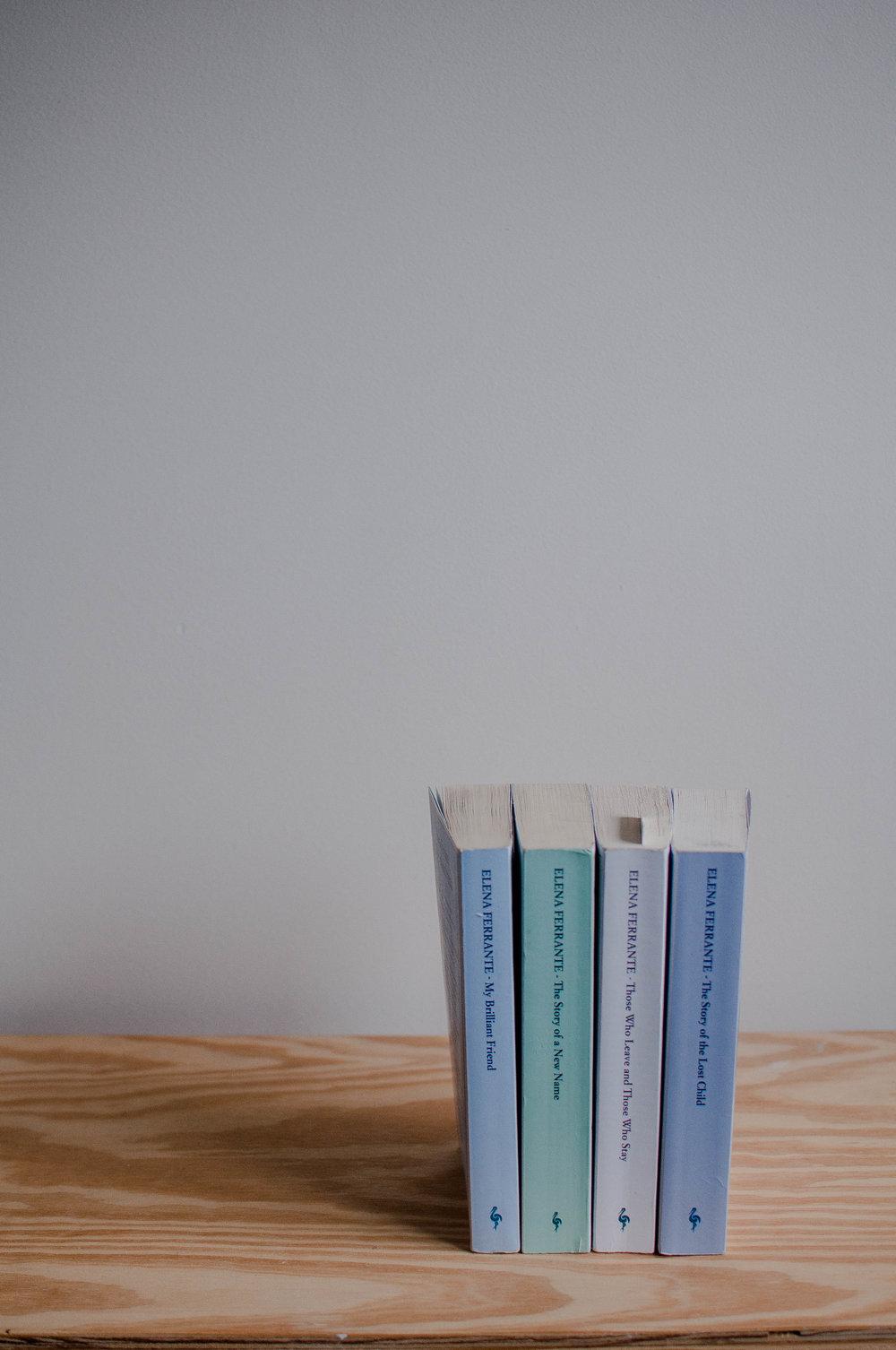 The Neapolitan Novels, Elena Ferrante