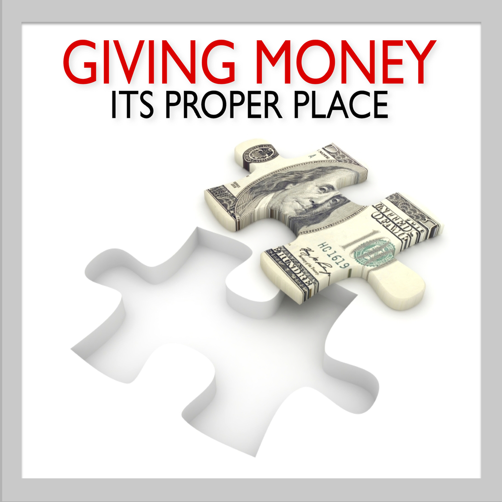 Giving Money Its Proper Place Cover Pic.jpg