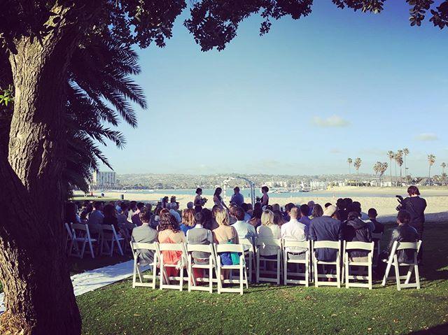 Congratulations to Keely & Peter! We loved playing for your Mission Beach wedding. #missionbeachwomensclub #sandiegoweddingmusic #weddingmusician #musicbyheidi #violin #cello