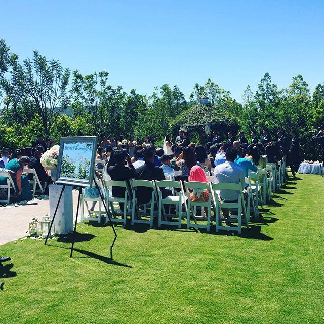 Congratulations to Bin & Anna on your beautiful Carmel Mountain Ranch wedding today! #binanna2016 #sandiegowedding #sandiegoweddingmusic #musicbyheidi #violin #cello