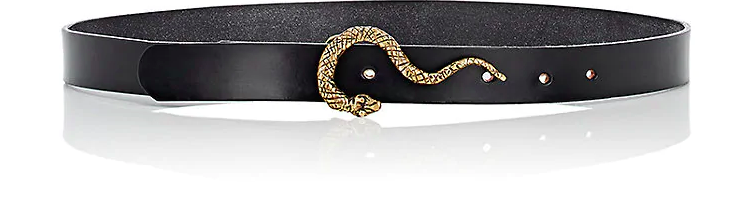 "1"" Belt with Snake Buckle"
