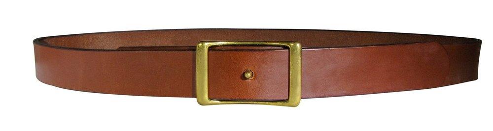 "1"" Medium Brown Belt"