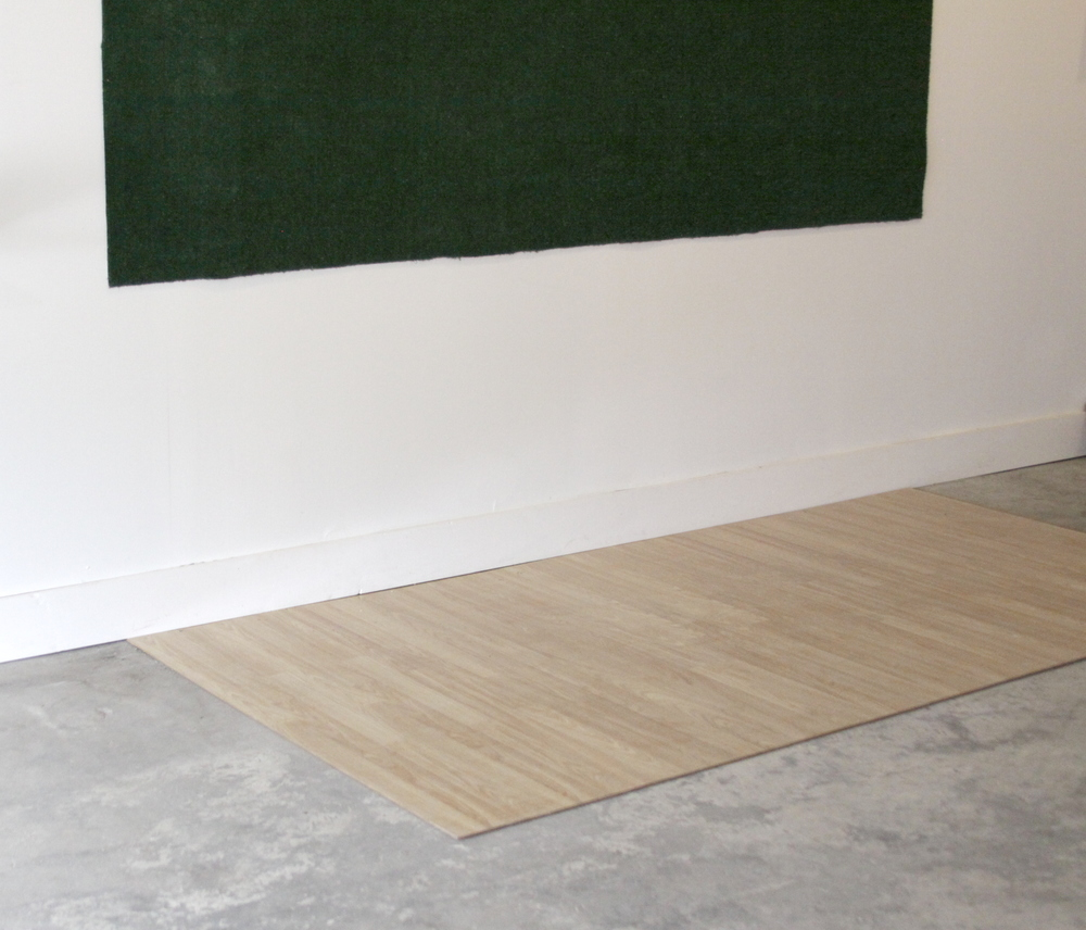 "Active Recreational Space  AstroTurf, laminate flooring, polyurethane turf: 120"" x 54"" laminate: 120"" x 54"" 2015"