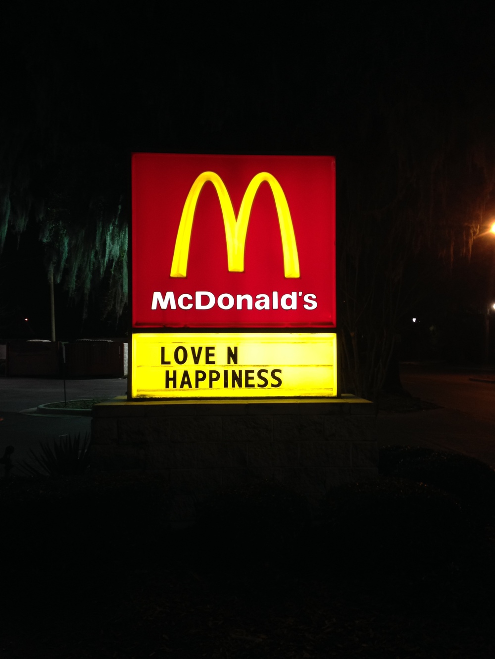 McDonald's on Victory Drive, Savannah, 2015