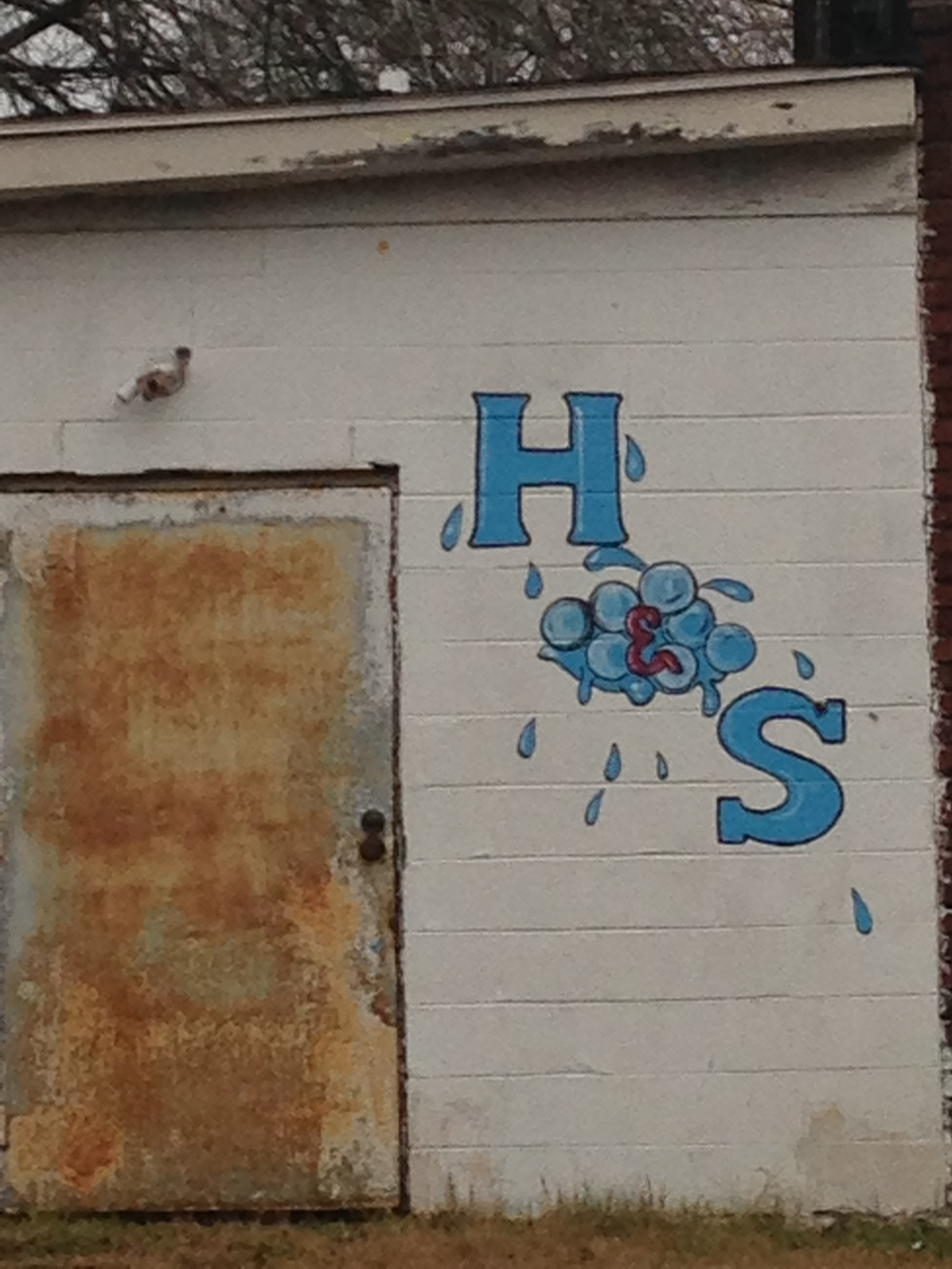 H & S car wash, Louisville Road, Savannah, 2015