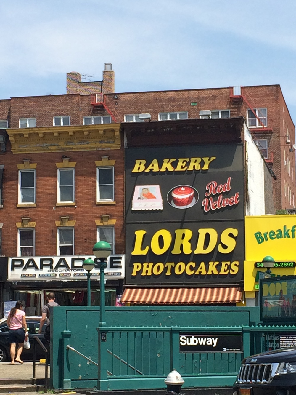 Lord's Photocakes and Bakery. Nostrand Ave, Brooklyn, 2015