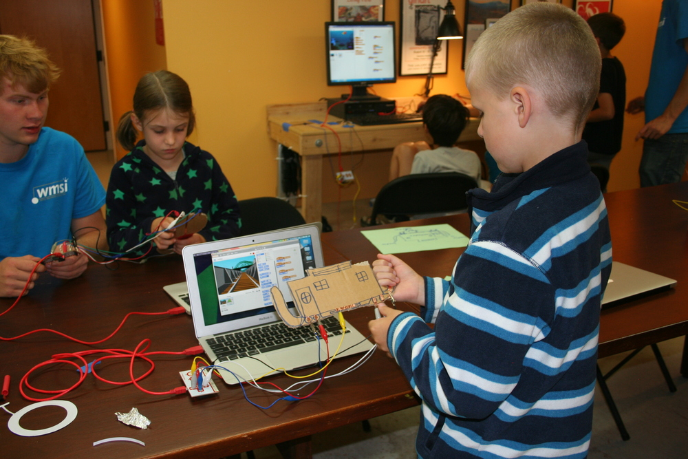 Makey Makey Controller: Design your own videogame controller with some basic electronics.