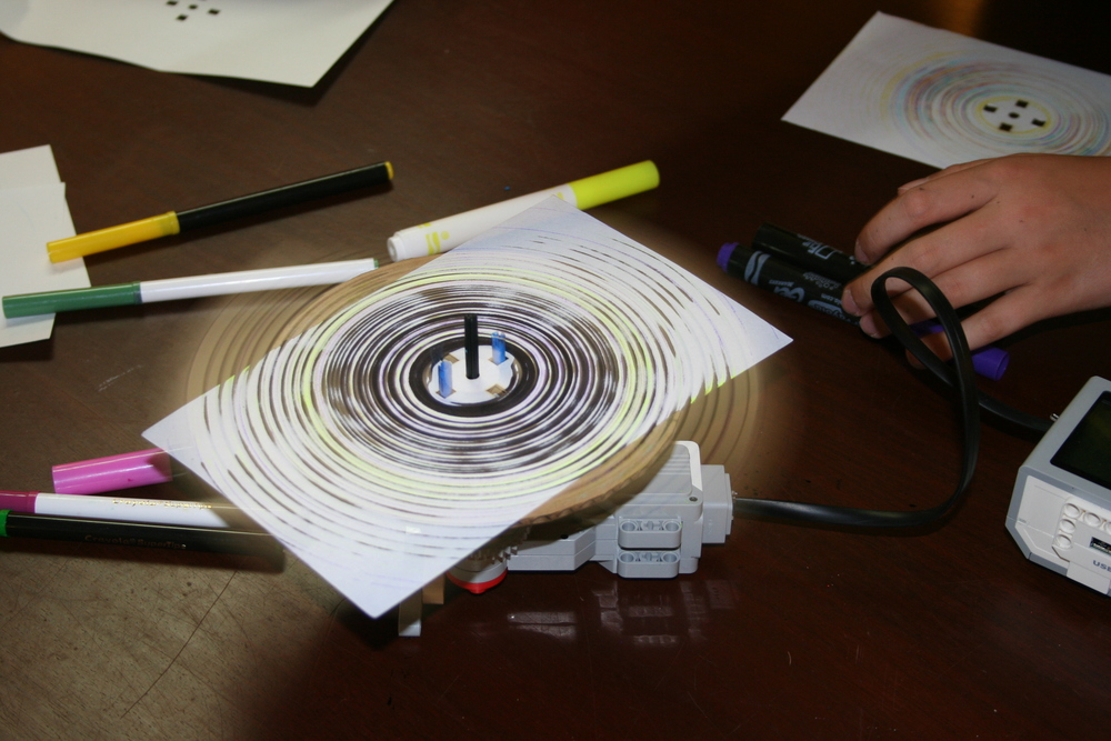 Spin Art: Who said that technology can't merge with art?