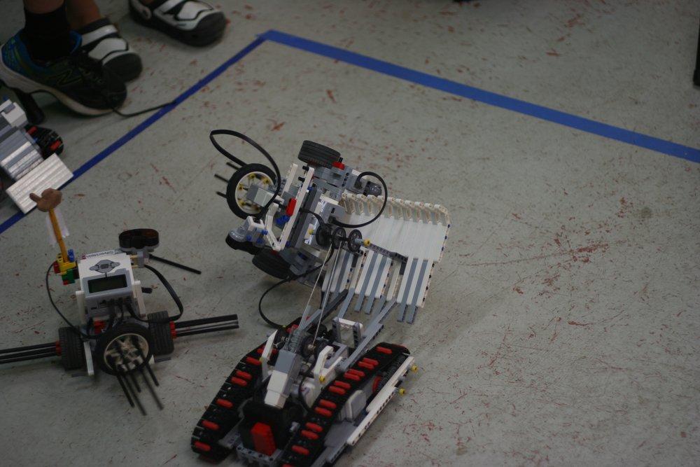Autonomous robot flipper!