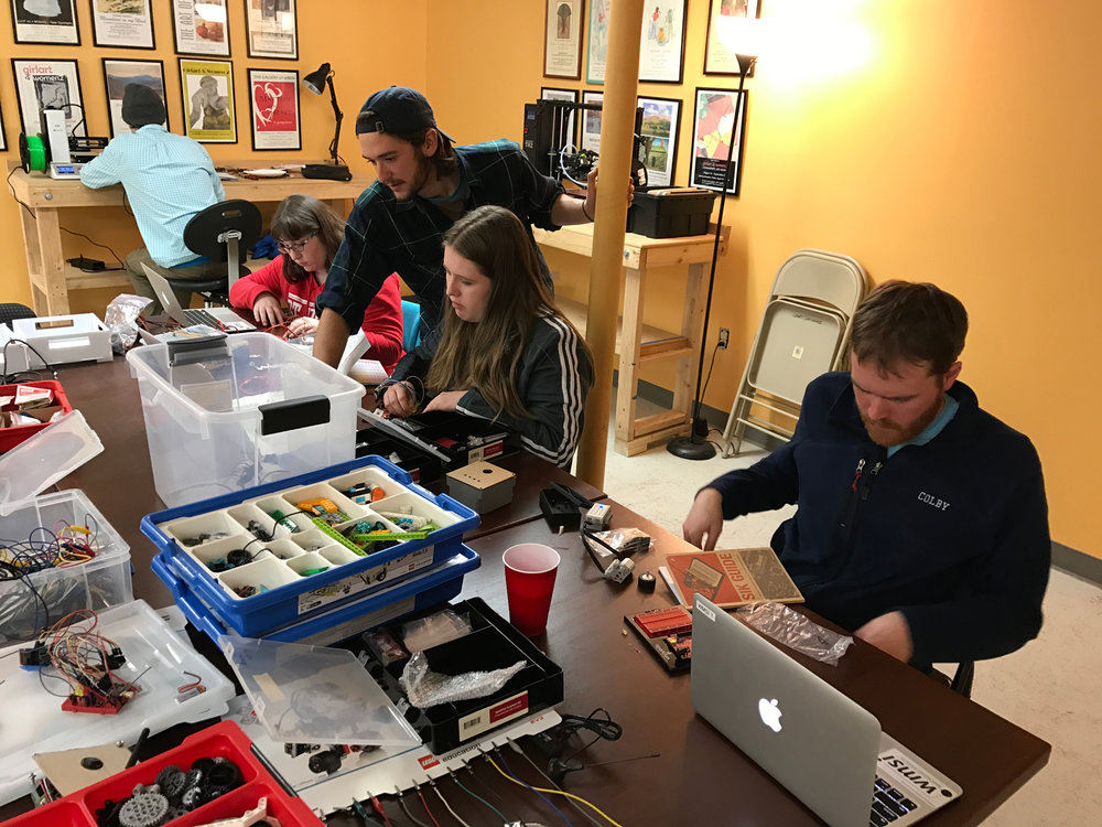 On-site workshops include: - →  Intro to using coding in your classroom→  Robotics After School→  Robotics in the Classroom→  NGSS Science Series→  Data Visualization→  Stop Motion Animation→  Minecraft→  Team BuildingWe bring our innovations to you at your school!