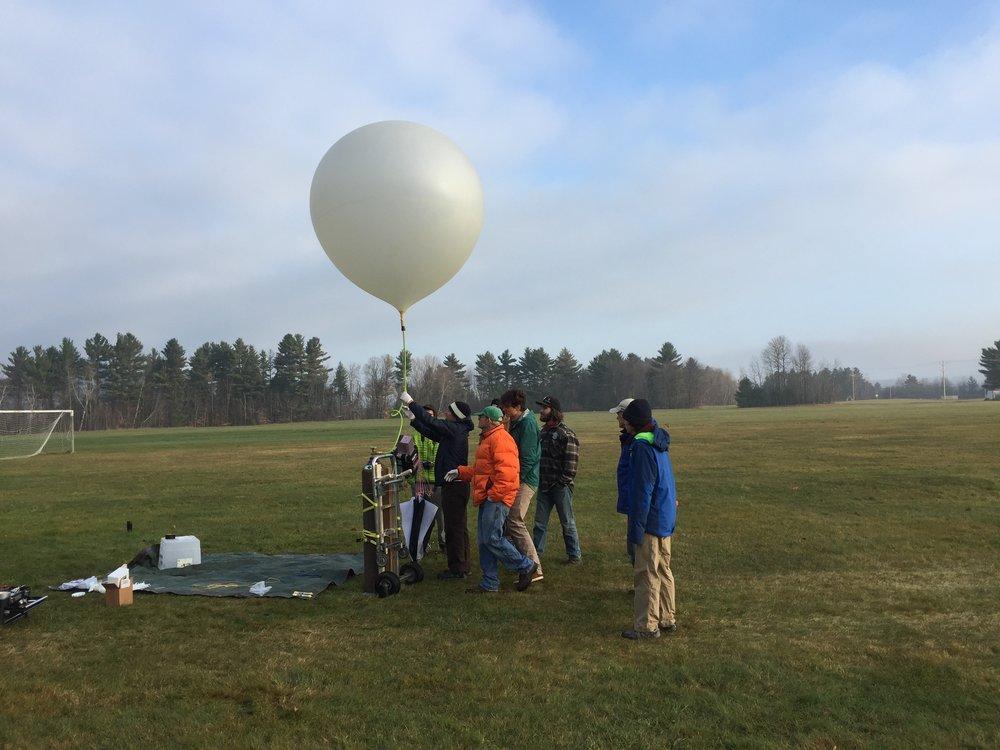 Preparing a High Altitude Balloon (HAB) for launch