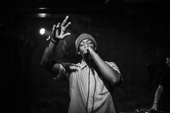 Silas Blak at the Cabin Games showcase at A3C. Photo by Sam Gehrke.