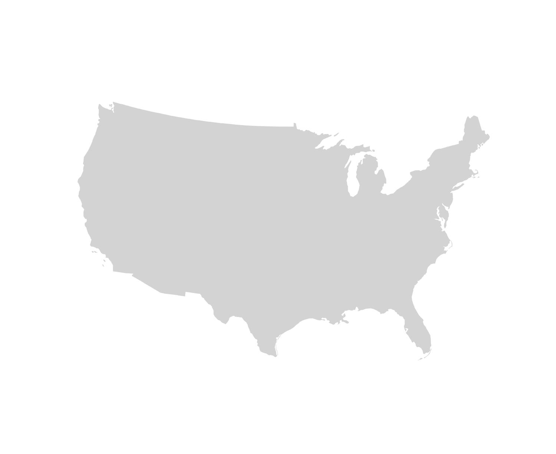 Kokopelli Packraft - Gray us map