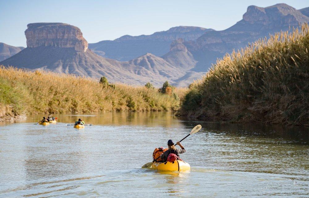 Packrafting Texas Rio Grande