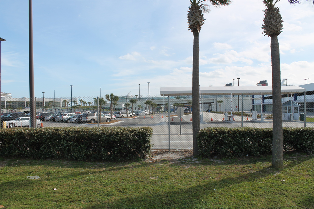 Cruise Terminal 5 Parking Lot