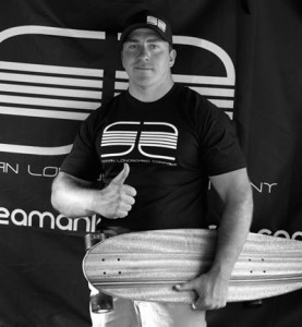 Alec has also started a  longboard company  using his knowledge gained from four generations of woodworking in his family.