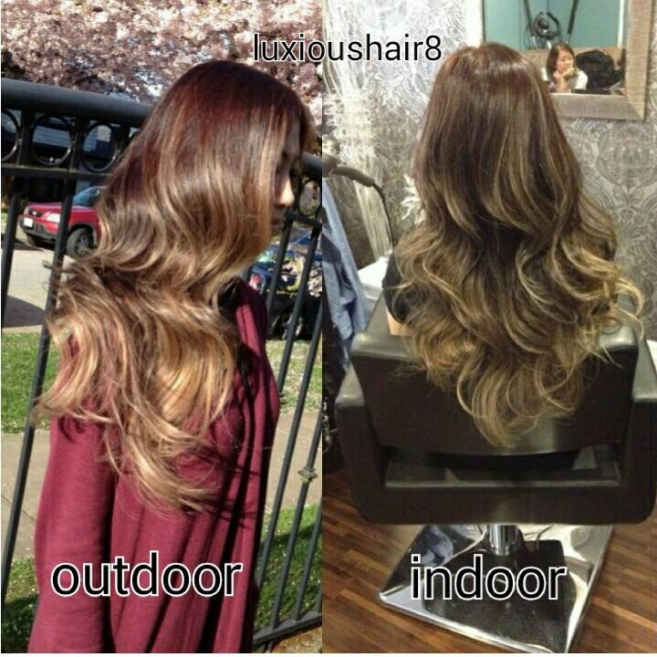 Lighting Can Play A Big Part For Hair Color In A Picture Hairbyvina