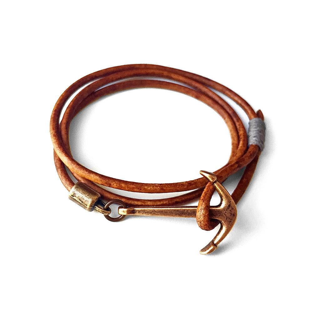 Copper Anchor Bracelet