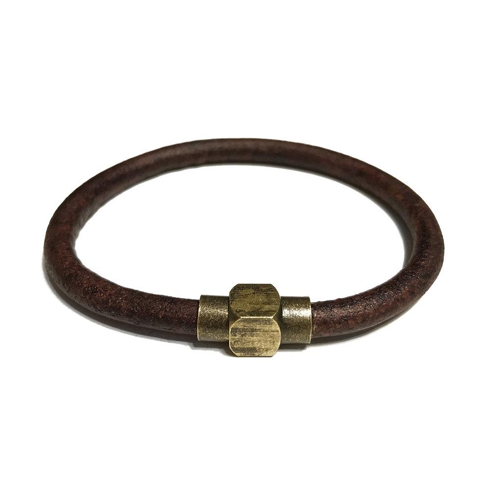 Rustic Leather Bracelet