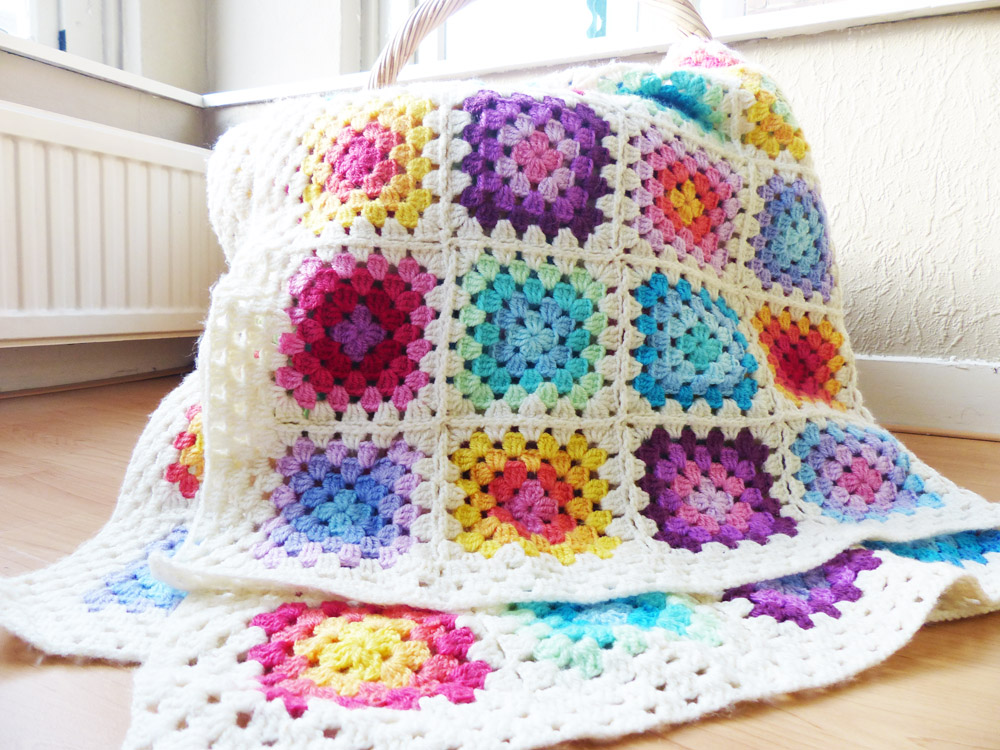 Granny Squares help teach you the basics of crochet