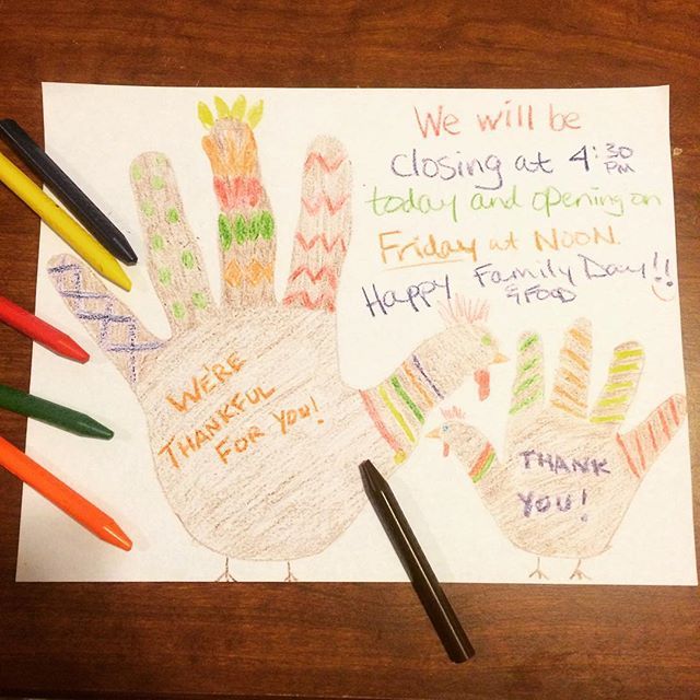 we will be #closing #early today, at 4:30, for family and food times.  we will be opening on friday at #noon, for #plaidfriday.  we are so thankful to you all, for all of the love and support through the years.  thank you, thank you, thank you!  #happythanksgiving #happyturkeyday #familytimes #sothankfulforyou #bestcustomersever #sf #sanfrancisco #urbanbazaarsf