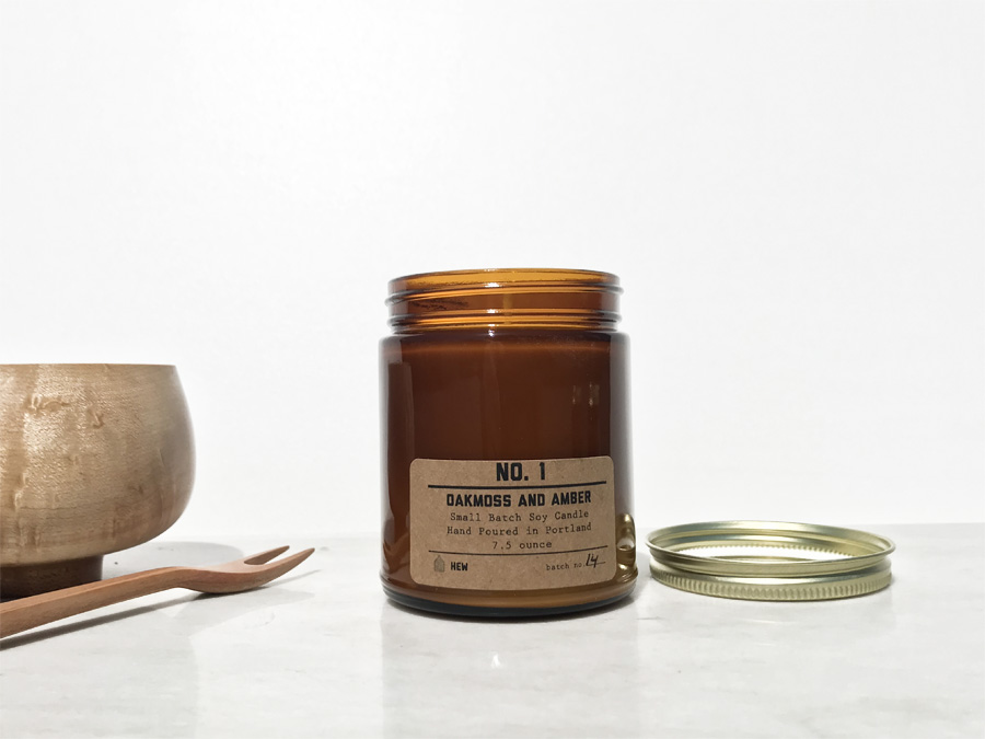 Small Batch Soy Candle — Hew