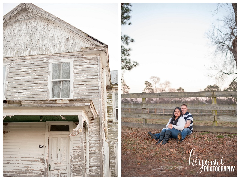 Abandoned house, Grace and Matt fenceline
