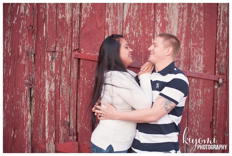 barn love Grace and Matt