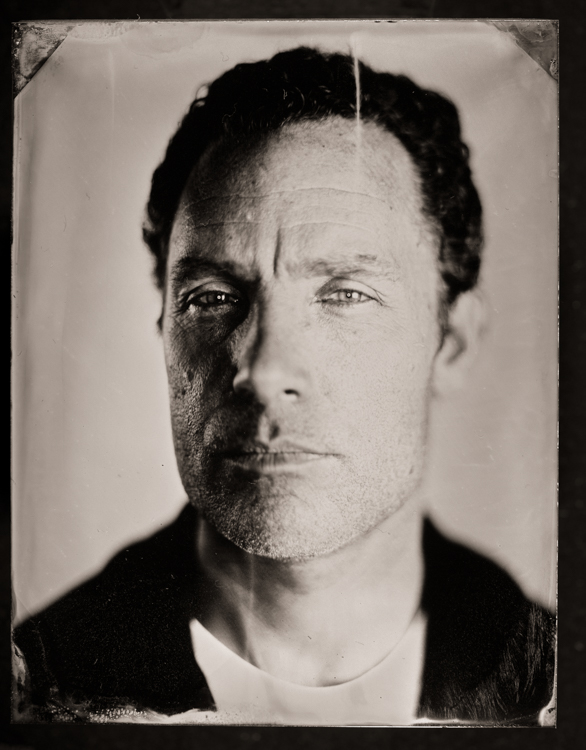 The unique look of a tintype portrait is like no other.