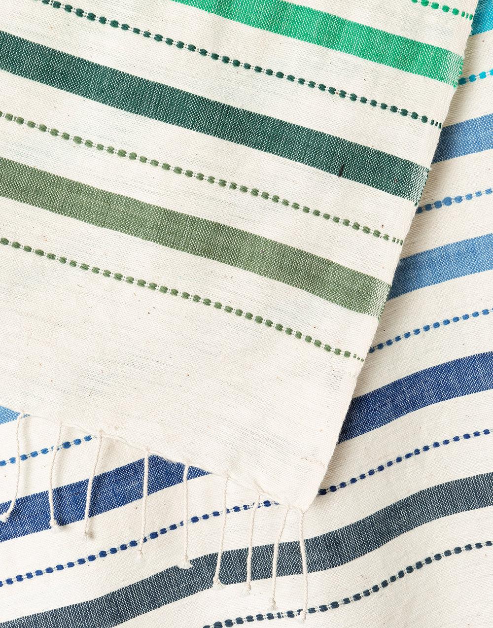 Striped-Hand-Towel-Ocean-2-{The-Little-Market}.jpg