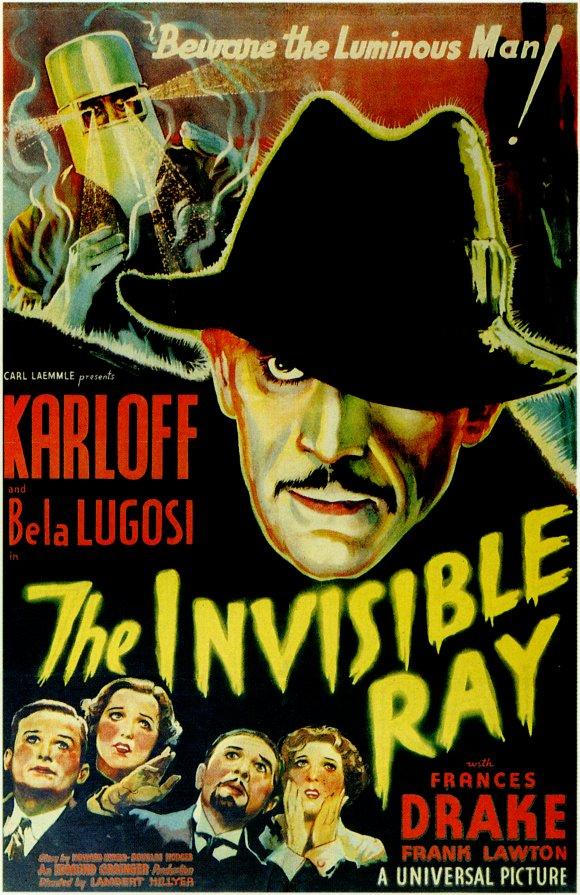 Boris Karloff Film Poster, 1936