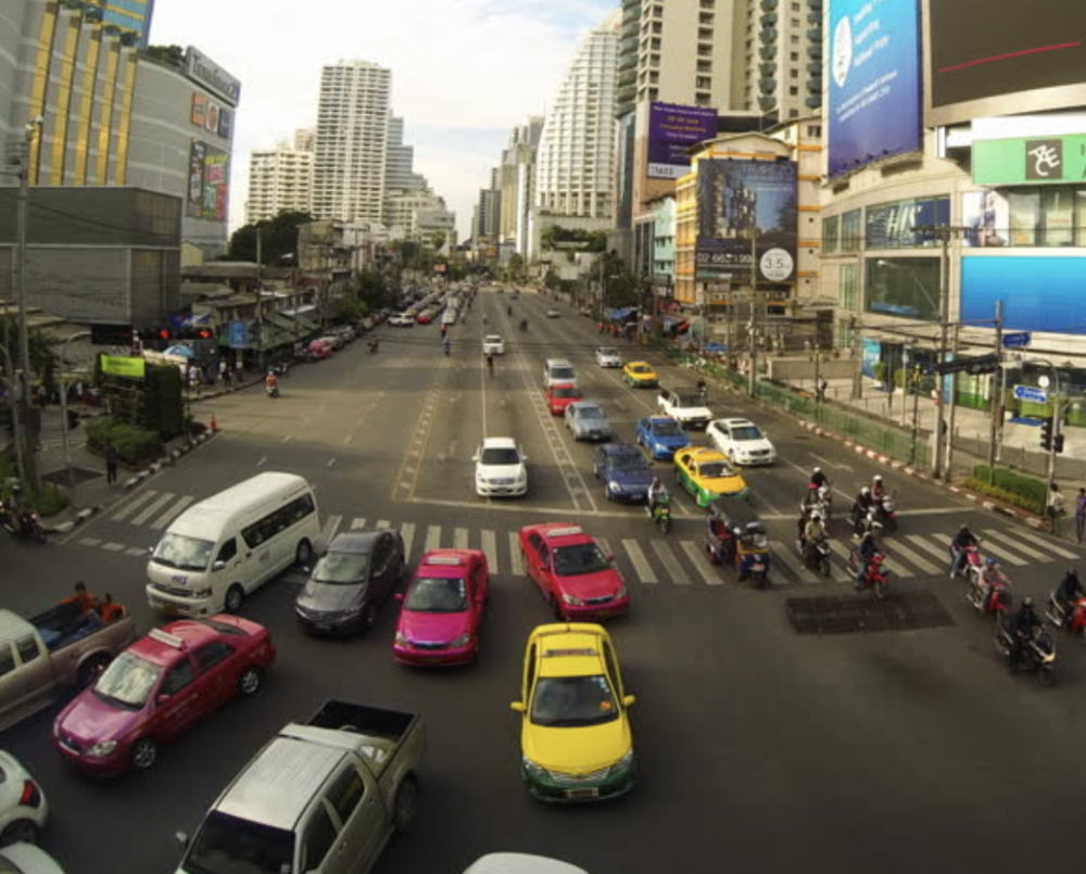 Choreographed Intersections Utilizing Autonomous Vehicles and Pedestrians