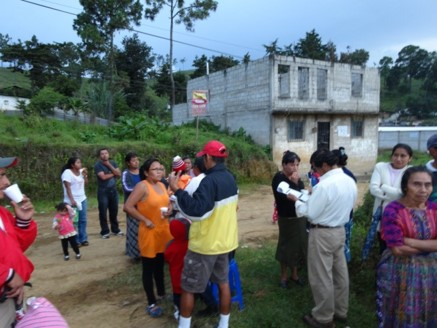 Survey participants included residents from the Santa Otilia community in Guatemala.