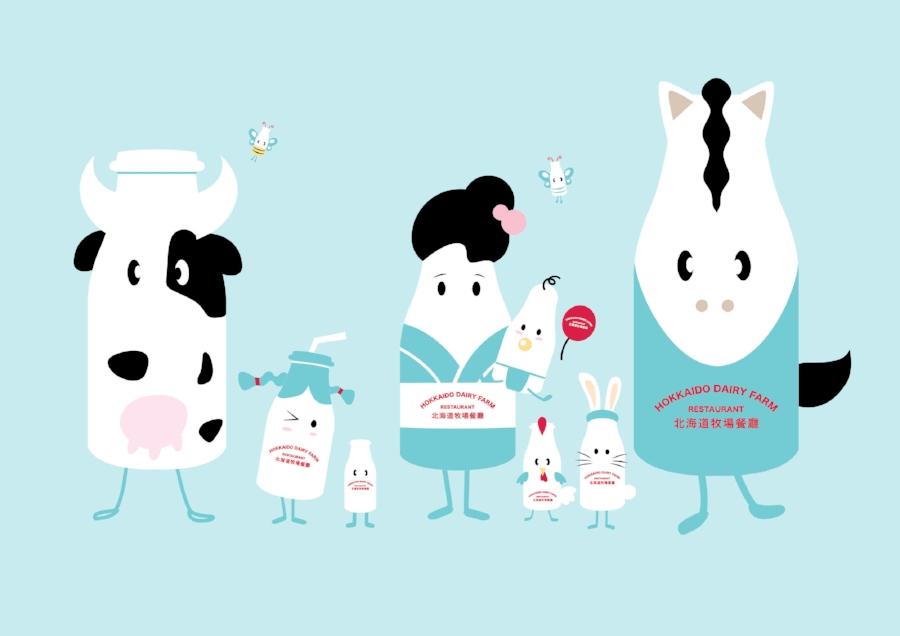 Hokkaido Character illustration