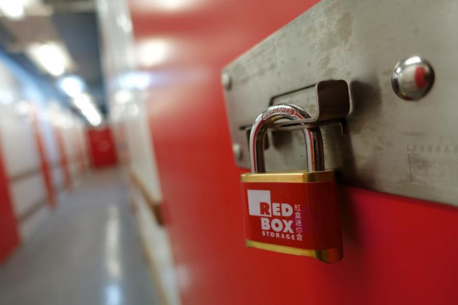 Red Box lock