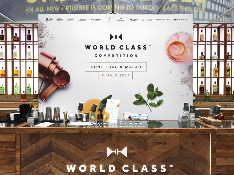 Worldclass Competition backdrop print