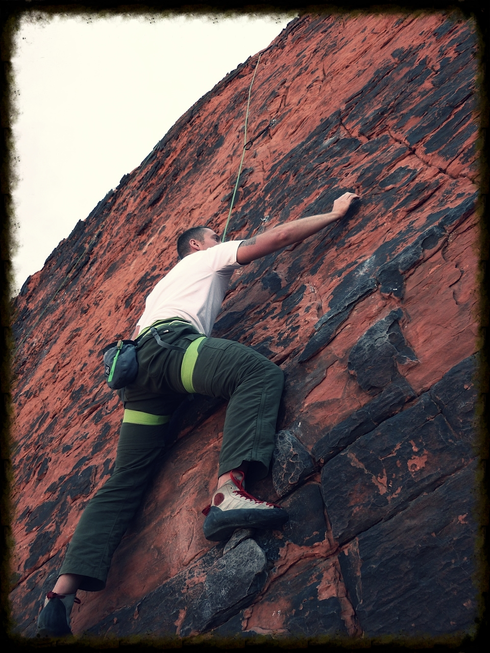 Climbing at Red Rocks