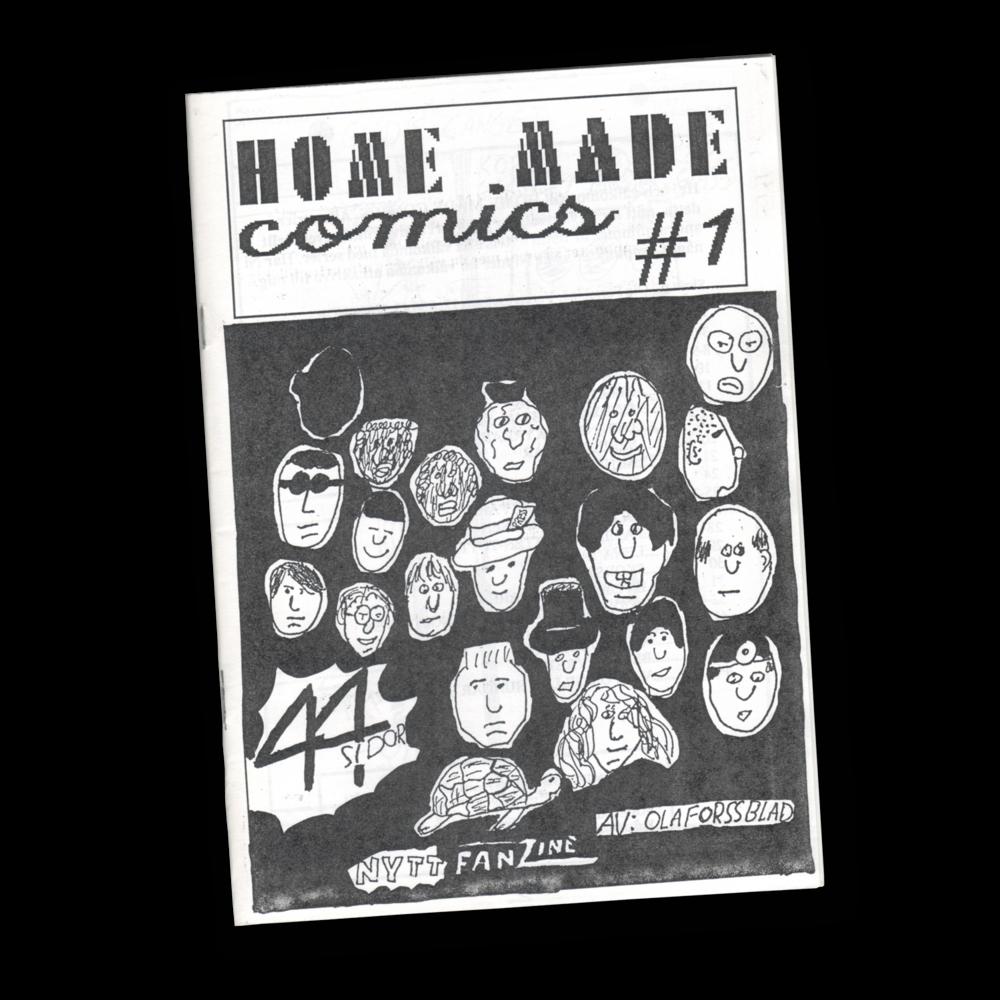 Utgiven:  1990.   Antal sidor:  44.   Format:  A5.   Upplaga:  70.   Medverkande:  Ola Forssblad.